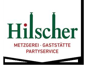 Logo Hilscher: Metzgerei, Gaststätte, Partyservice